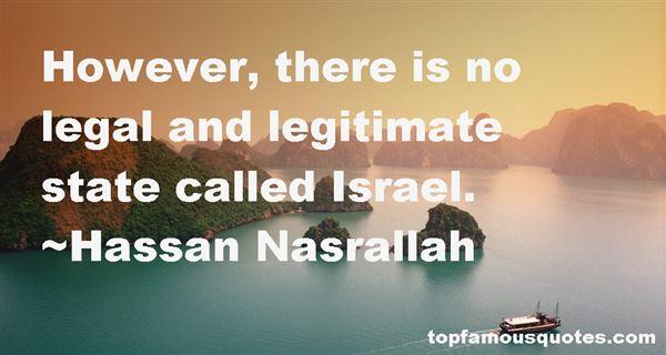Hassan Nasrallah Quotes