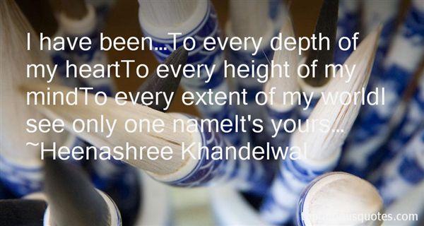 Heenashree Khandelwal Quotes