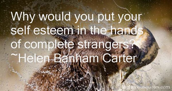 Helen Banham Carter Quotes