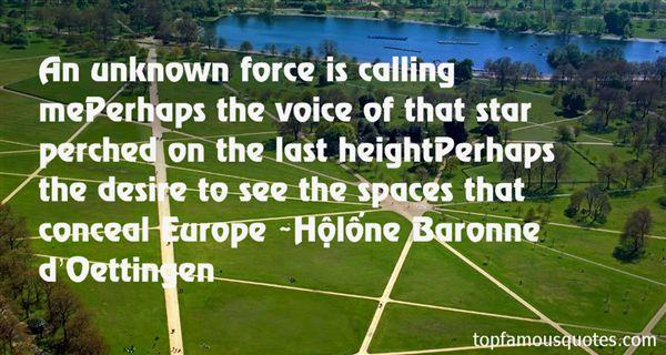 Hélène Baronne D'Oettingen Quotes