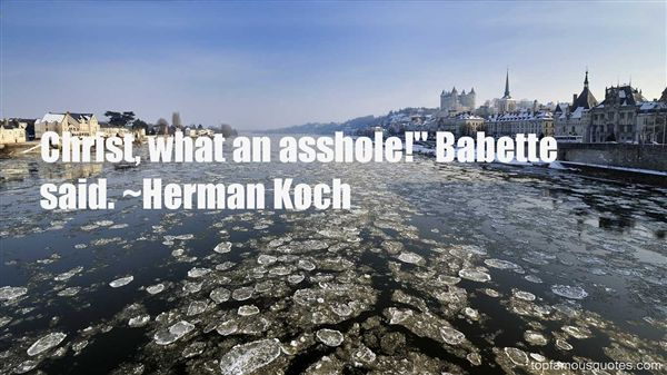 Herman Koch Quotes