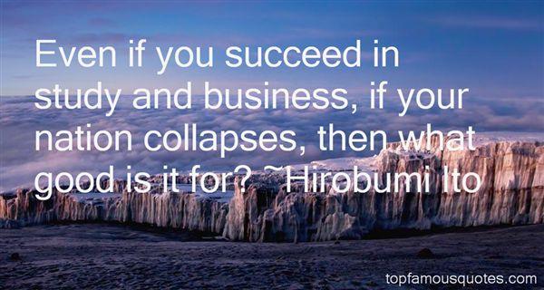 Hirobumi Ito Quotes