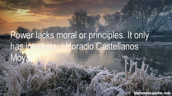 Horacio Castellanos Moya Quotes