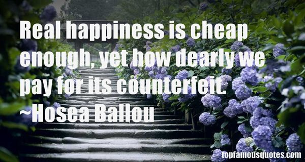 Hosea Ballou Quotes