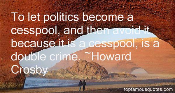 Howard Crosby Quotes