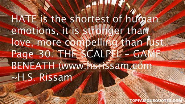 H.S. Rissam Quotes