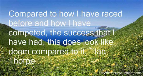 Ian Thorpe Quotes