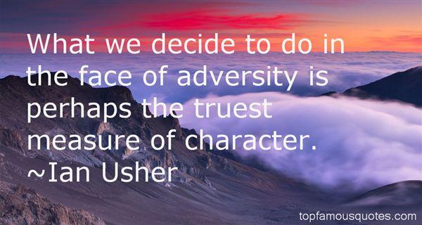 Ian Usher Quotes