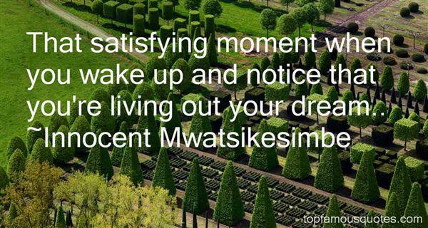 Innocent Mwatsikesimbe Quotes