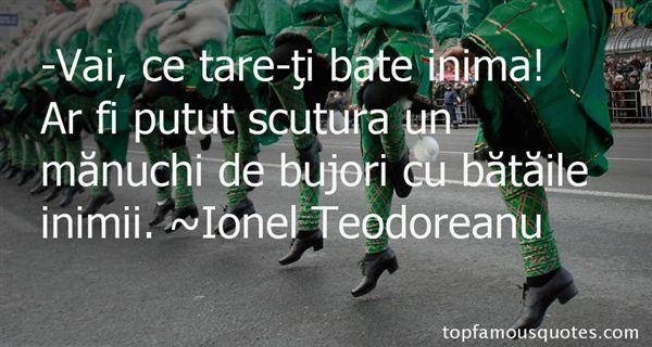 Ionel Teodoreanu Quotes