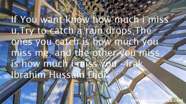Irak Ibrahim Hussain Didi Quotes