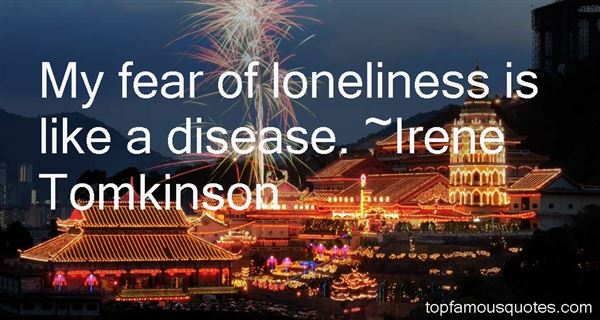 Irene Tomkinson Quotes