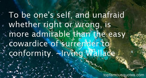 Irving Wallace Quotes
