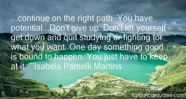 Isabela Pamelli Martins Quotes