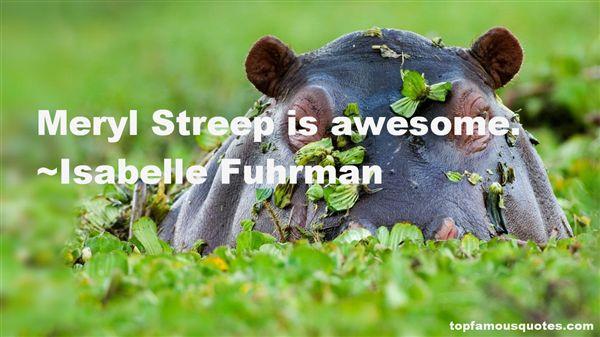 Isabelle Fuhrman Quotes