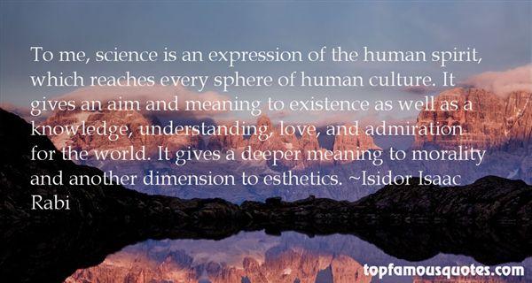 Isidor Isaac Rabi Quotes