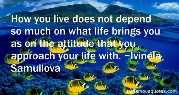 Ivinela Samuilova Quotes