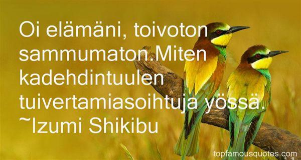 Izumi Shikibu Quotes