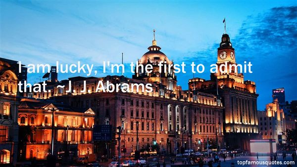 J. J. Abrams Quotes