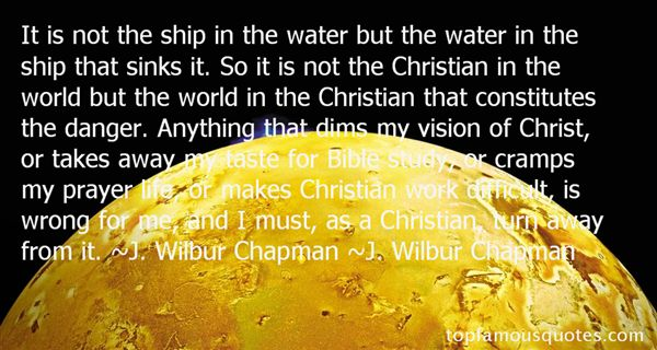 J. Wilbur Chapman Quotes