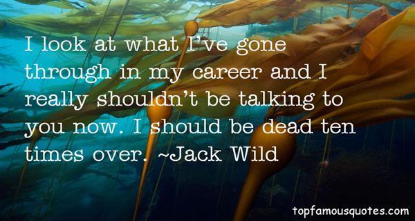 Jack Wild Quotes