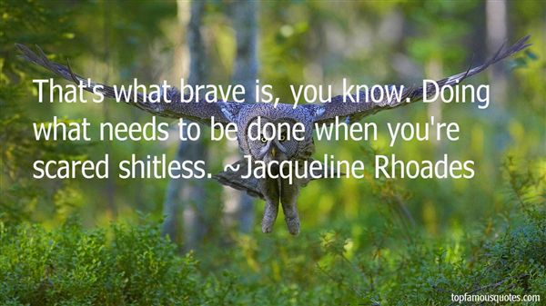 Jacqueline Rhoades Quotes