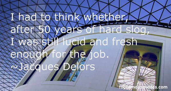 Jacques Delors Quotes
