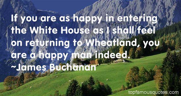 James Buchanan Quotes