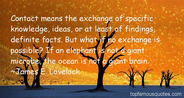 James E. Lovelock Quotes
