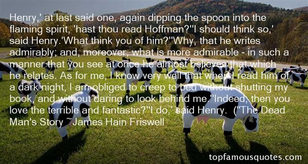 James Hain Friswell Quotes