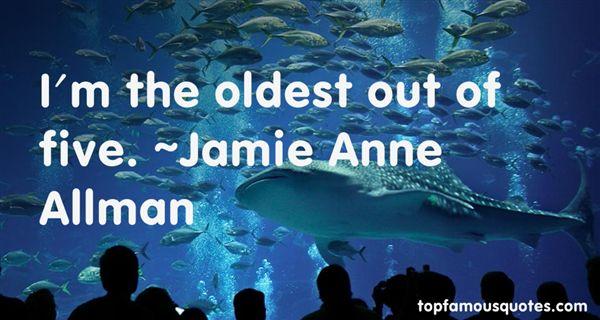 Jamie Anne Allman Quotes