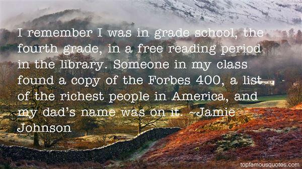 Jamie Johnson Quotes