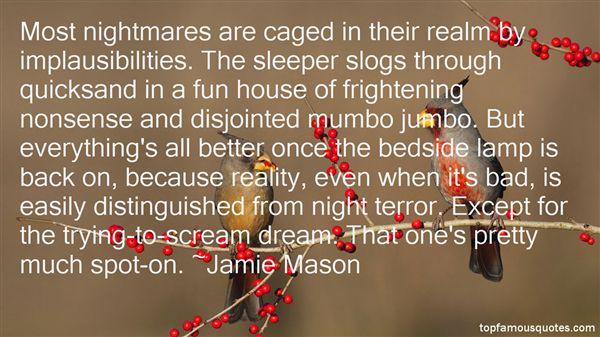 Jamie Mason Quotes
