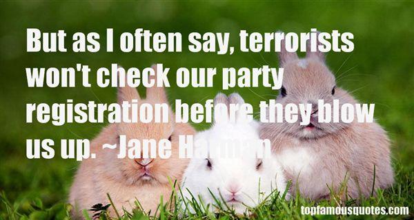Jane Harman Quotes