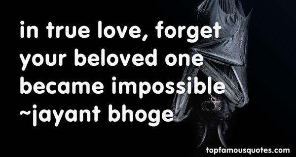 Jayant Bhoge Quotes