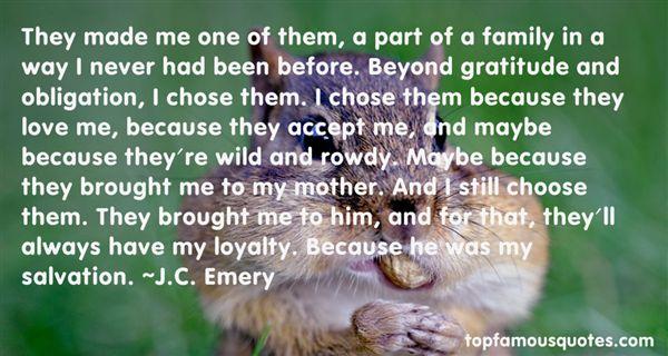 J.C. Emery Quotes