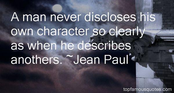 Jean Paul Quotes