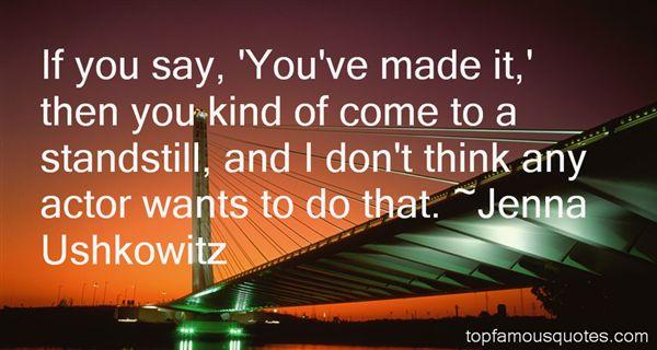 Jenna Ushkowitz Quotes