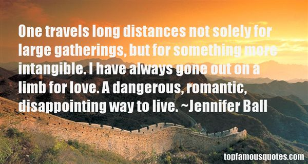 Jennifer Ball Quotes