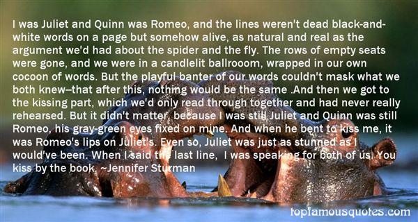 Jennifer Sturman Quotes
