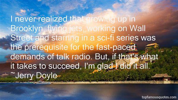 Jerry Doyle Quotes
