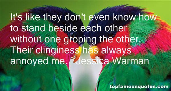 Jessica Warman Quotes