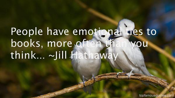Jill Hathaway Quotes