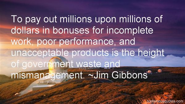 Jim Gibbons Quotes