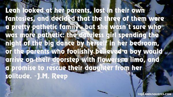 J.M. Reep Quotes