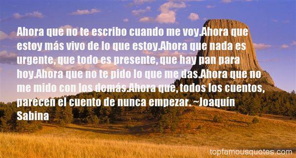 Joaquín Sabina Quotes