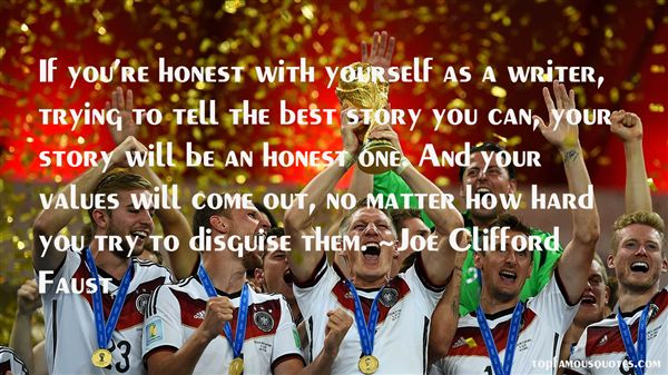 Joe Clifford Faust Quotes