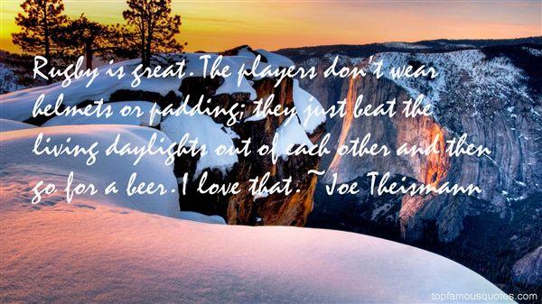 Joe Theismann Quotes