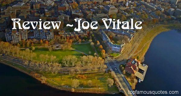 Joe Vitale Quotes