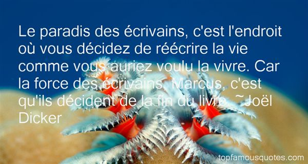 Joël Dicker Quotes